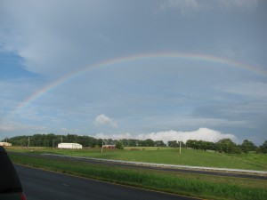 Rainbow over Wayland Farm