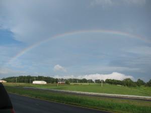 Rainbow over Wayland Farm