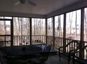 Alleman Back Porch and Hot Tub